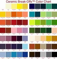 Ceramic Paint Color Chart Ceramic Letters For Mosaics