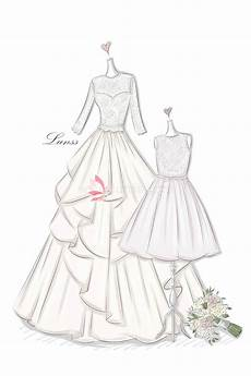 Dress Designing Sketches Long Dress Drawing At Getdrawings Free Download