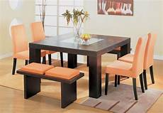 Dining Table Card Design Square Dining Table Design For Your Home D 233 Cor