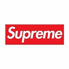 supreme logo supreme clothing logo car vinyl sticker decal 6 quot x 2