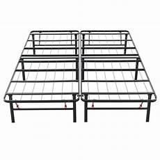 hercules size 14 in h heavy duty metal platform bed