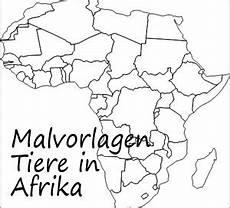 tiere aus afrika malvorlagen zum ausdrucken