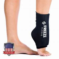 freeze sleeve cold therapy compression sleeve reusable