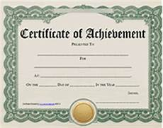 Certificates Of Achievement Free Templates Certificate Of Achievement Quotes Quotesgram