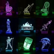 Fortnite Night Light Fortnite Series 3d Lamp Llama Scar Led Night Light 7
