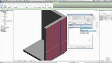 Wall Reveal Create A Custom Wall Reveal Provile In Revit Youtube