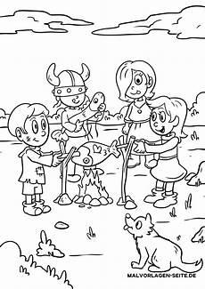 malvorlage wikinger kinder kostenlose ausmalbilder