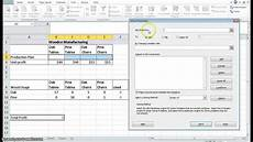 How To Use Solver In Excel Using Excel Solver To Solve A Lp Problem Youtube