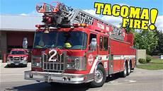 Lights Sirens Tacoma Tacoma Engine 8 Medic 2 Amp Ladder 2 Responding Lights