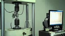 Tensile Test Tensile Testing A Stainless Steel Tensile Specimen Youtube