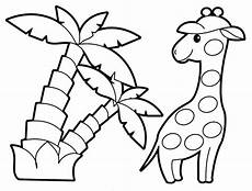 Malvorlage Tiere Einfach Get This Easy Printable Animals Coloring Pages For