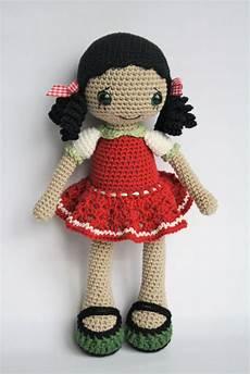 doll amigurumi crochet doll pattern by lilleliis