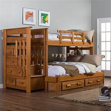 bunk bed with stairs for safety atzine