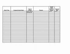 Sales Call Sheets Sales Contact Sheet Template Sampletemplatess