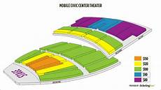 Okc Civic Center Seating Chart Mobile Mobile Civic Center Theater Seating Chart