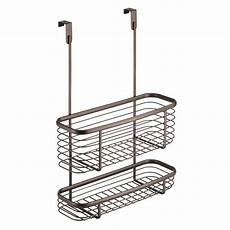 interdesign axis the cabinet x3 basket in bronze