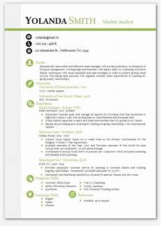 Cv Templates For Microsoft Word Modern Microsoft Word Resume Template Resume By Inkpower