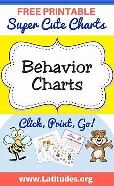 Free Printable Behavior Charts Free Printable Behavior Charts For Kids Behavior Chart