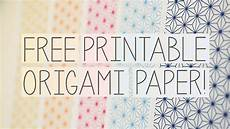 Printable Paper Free Printable Origami Papers From Paper Kawaii Youtube