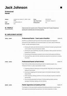 To Make Resume Guide Commercial Painter Resume Examples 12 Samples