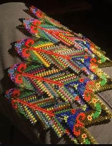 the colors fabric seed bead jewelry bead work