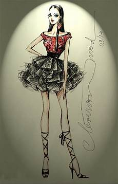 caderno de desenho de moda desenhos de moda desenhos de moda garota saia volumosa