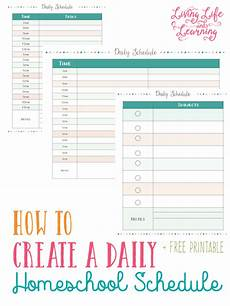 Free Daily Schedule Free Homeschool Weekly And Daily Schedule Printables