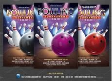 Bowling Flyer Bowling Tournament Flyer Flyer Templates Creative Market