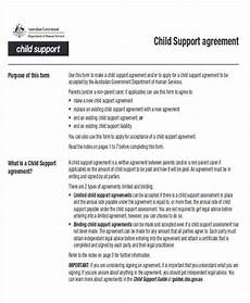 Child Support Agreement Agreement Examples