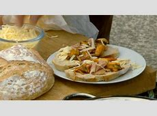 Conwy mussels with ham and cheese recipe on Countryfile