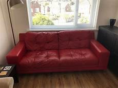 for sale condition leather sofa used in