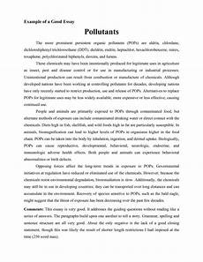 Example Of A Good College Admission Essay How To Write A Good Essay For College Essay Good Essay