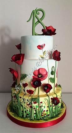 fiori 18 anni torte 18 anni di cake design per ragazzo e ragazza
