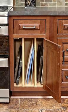 baking sheet organizer tray cabinet kitchen storage