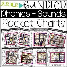 Pocket Chart Design See Teach Multiage Phonics Pocket Charts