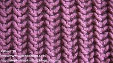 herringbone stitch free knitting patterns stitch 20