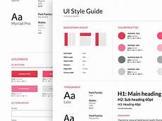 Style Guide Examples 40 Great Examples Of Ui Style Guides Web Amp Graphic