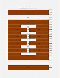 Blanket Chart Football Blanket Crochet Chart
