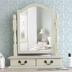 juliette shabby chic chagne trinket mirror