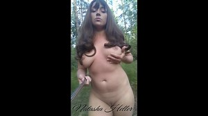 Big Tits In The Woods