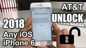 How To Unlock iPhone 6 From AT&T to Any Carrier