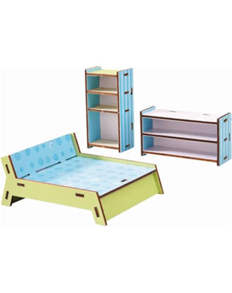 haba doll house haba dollhouse furniture bedroom little friends 300506 online at papiton