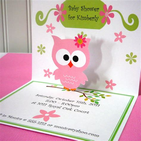 owl themed baby shower invitation template owl invitations owl birthday invitations by