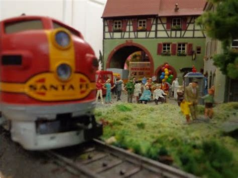 santa fe layout youtube marklin layout br 89 santa fe f7 youtube