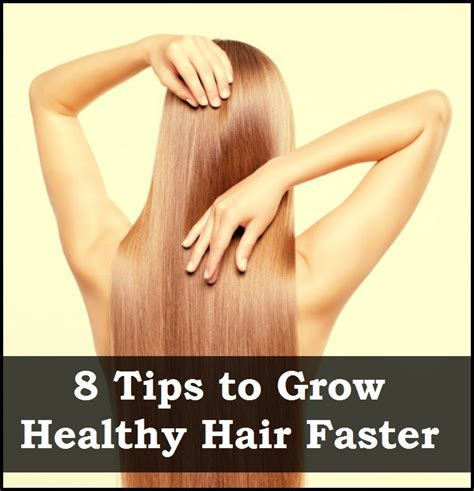 10 Tips On How To Grow Hair by 10 Tips To Grow Healthy Hair Faster
