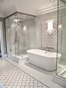 marble arabesque tiles contemporary bathroom terra verre