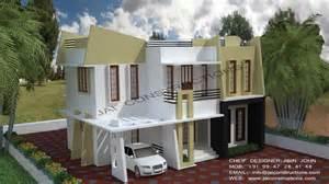 contemporary model house plans jai constructions