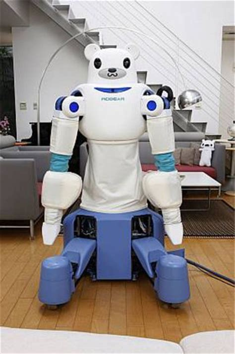 Meet Robonurse by Robear Robot Care Designed To Serve Japan S Aging