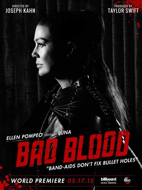 membuat poster bad blood ellen pompeo bad blood poster