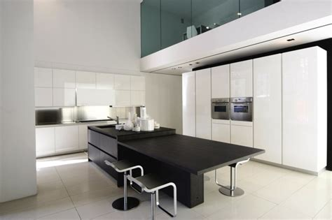 cocinas negras modernas dise 241 o de cocinas modernas 100 ejemplos geniales